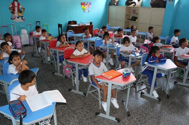 aula de colegio